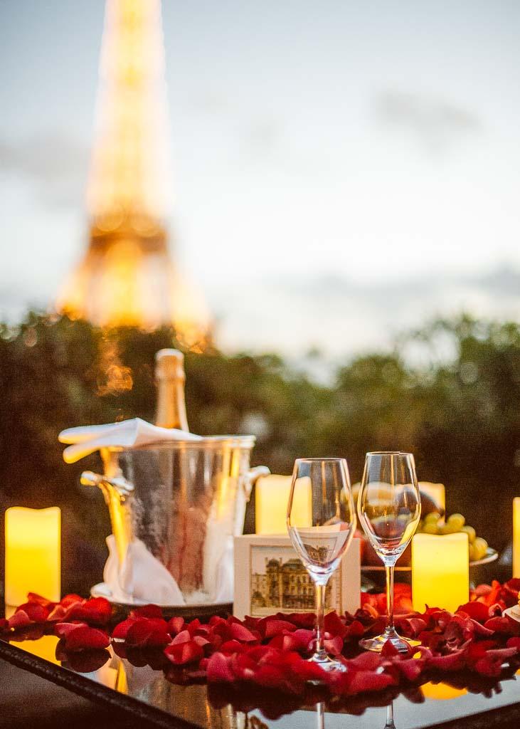 Menu Saint-Valentin 2021 - Shangri-La Paris © DR