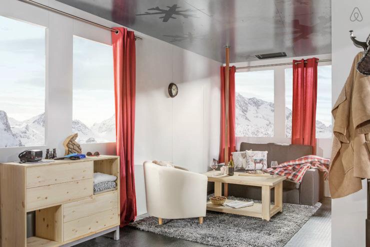 Le salon culmine à plus de 2700 mètres d'altitude.
