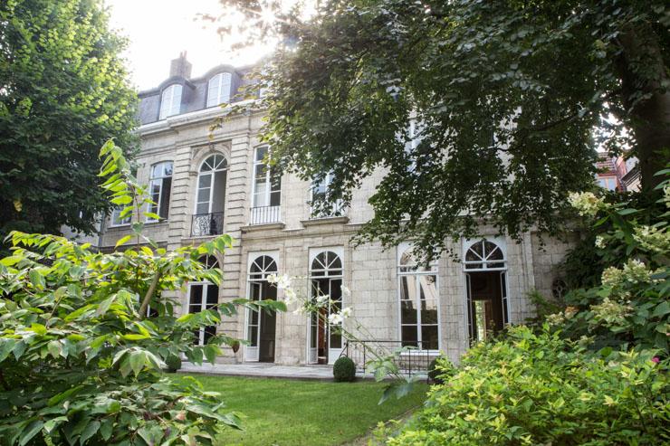 Clarance, Lille - Façade arrière de l'hôtel particulier