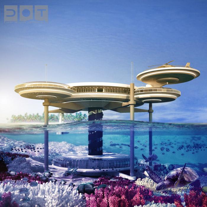 Water Discus Hotel Dubai - Vue d'ensemble de l'hôtel