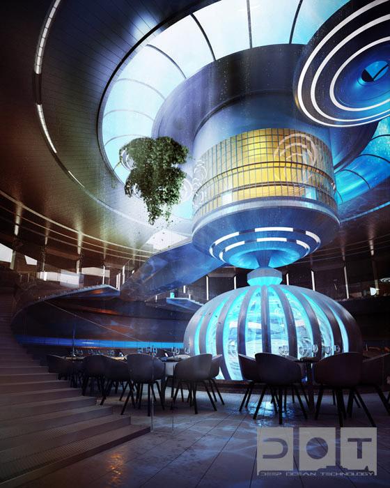 Water Discus Hotel Dubai - A l'intérieur de l'hôtel