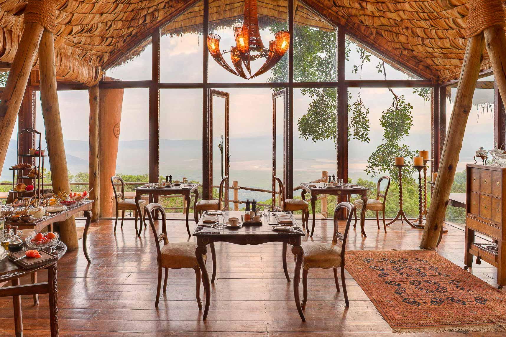 &Beyond Ngorongoro Crater Lodge © DR