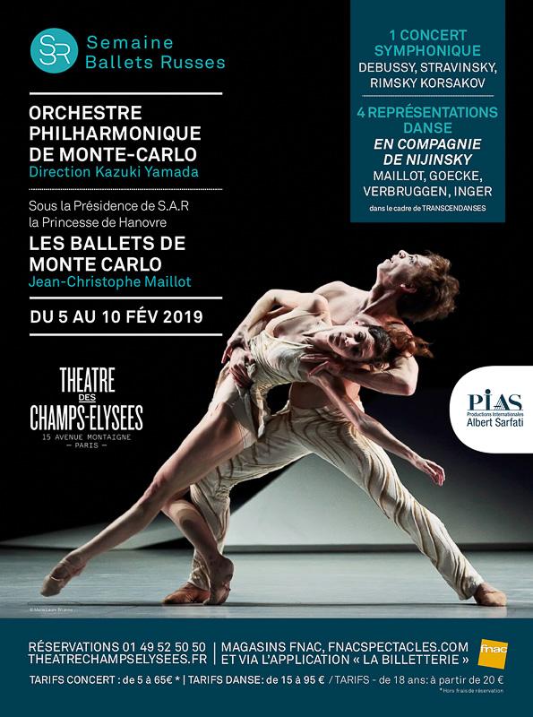 Les Journées monégasques au Théâtre des Champs-Elysées du 5 au 10 février 2019