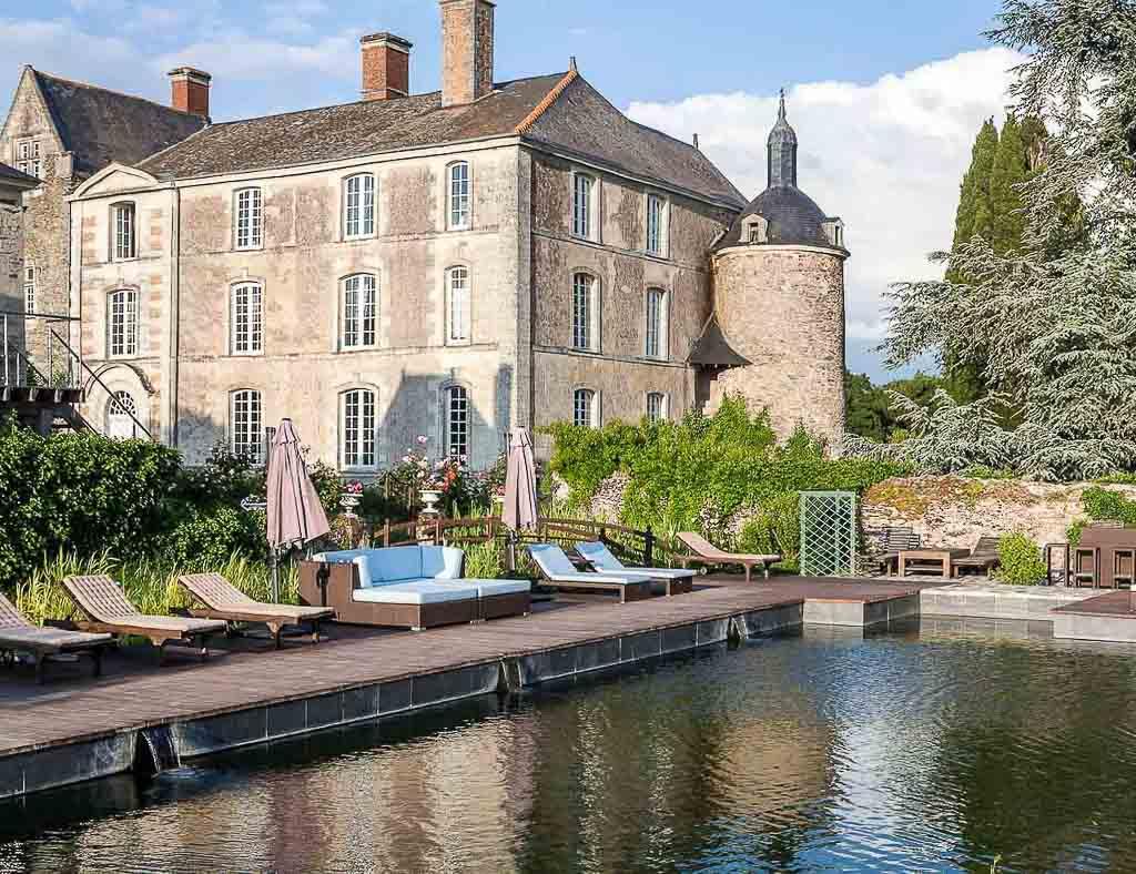 Château de l'Épinay - Piscine naturelle © DR