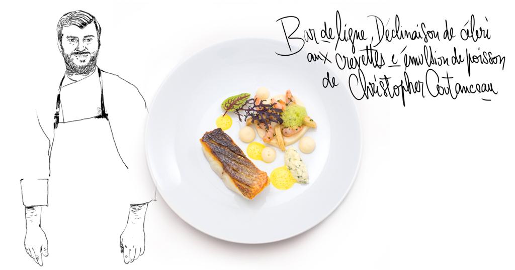 Le plat de Christopher Coutanceau pour la box MoiChef spéciale Saint-Valentin