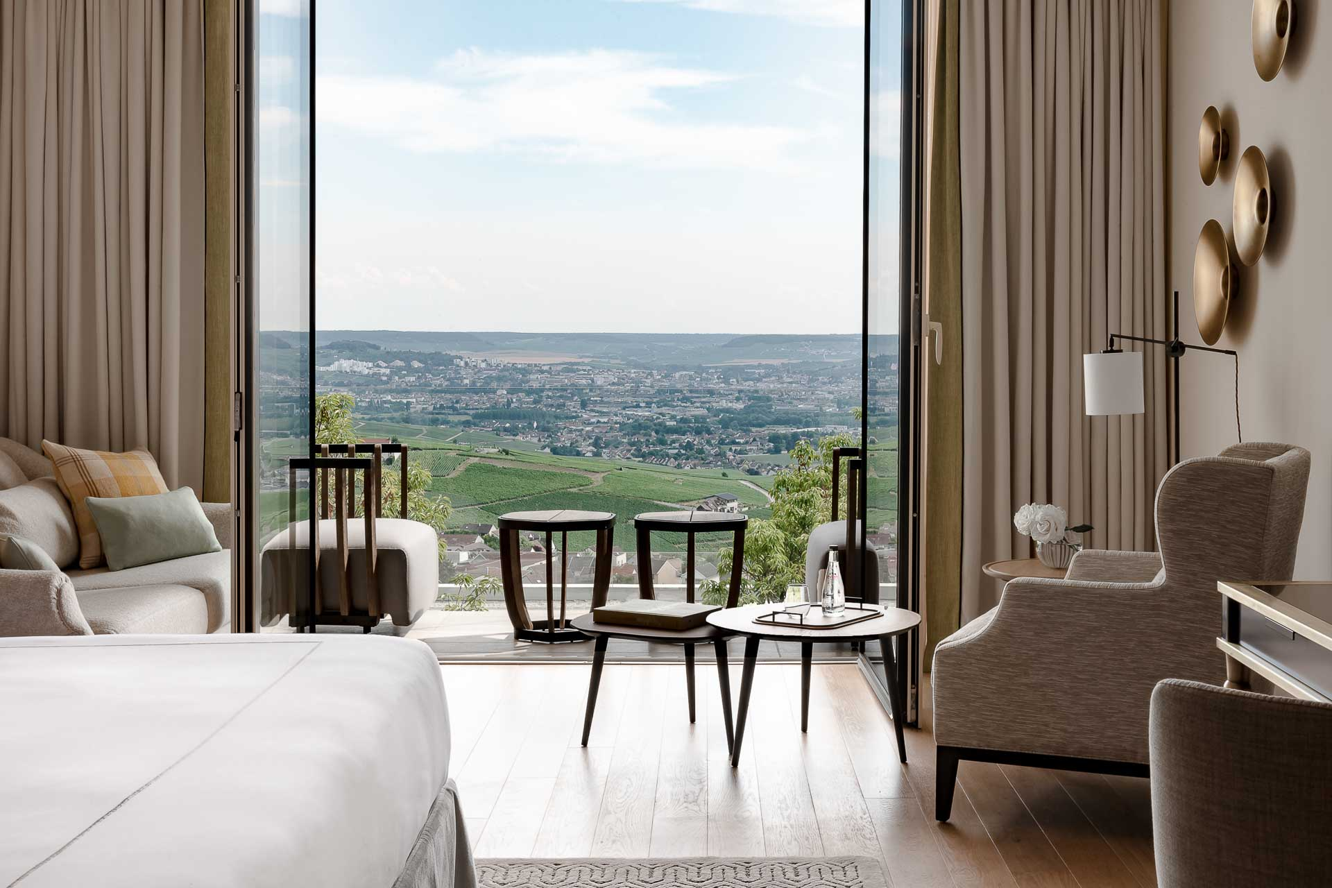 Royal Champagne Hotel & Spa - Chambre avec vue © DR