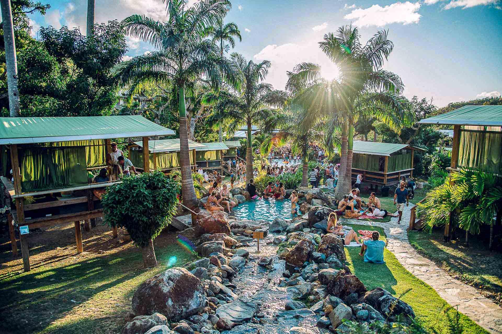 SXM Festival – Jungle Party – Loterie Farm © DR