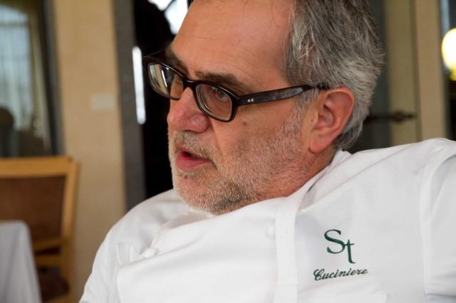 Salvatore Tassa, l'un des chefs qui a le plus inspiré Giovanni Passerini © Scatti di Gusto
