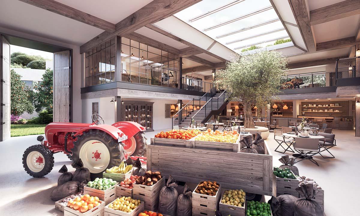 "Six Senses Ibiza – ""Farmer's Market"""
