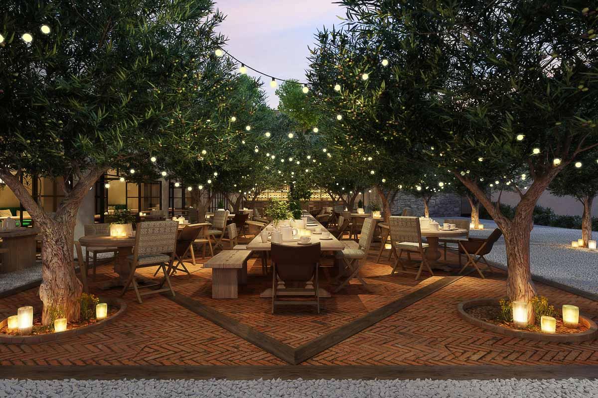 Six Senses Ibiza – Orange Orchard