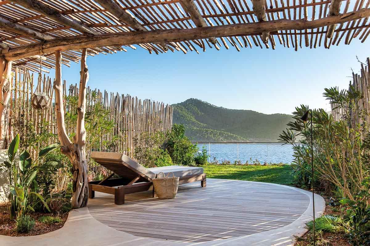 Six Senses Ibiza – Sundeck privé avec vue sur la Méditerranée