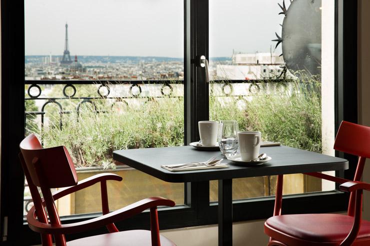"Terrass"" Hotel - les verrières du restaurant"