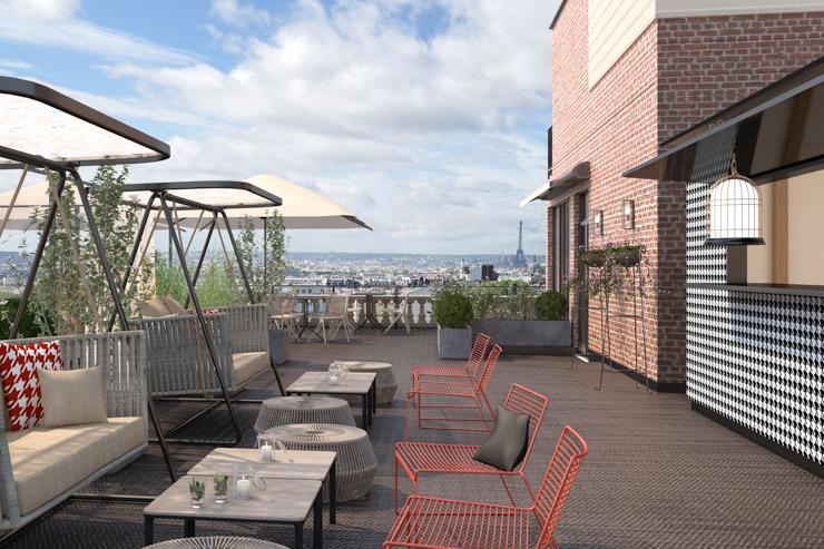"""Terrass"""" Hotel- un endroit idéal pour se relaxer en après-midi"""