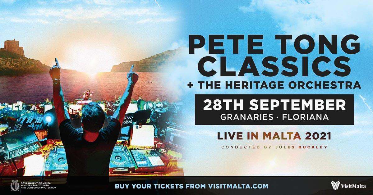 Pete Tong Classics Malta 2021 © DR