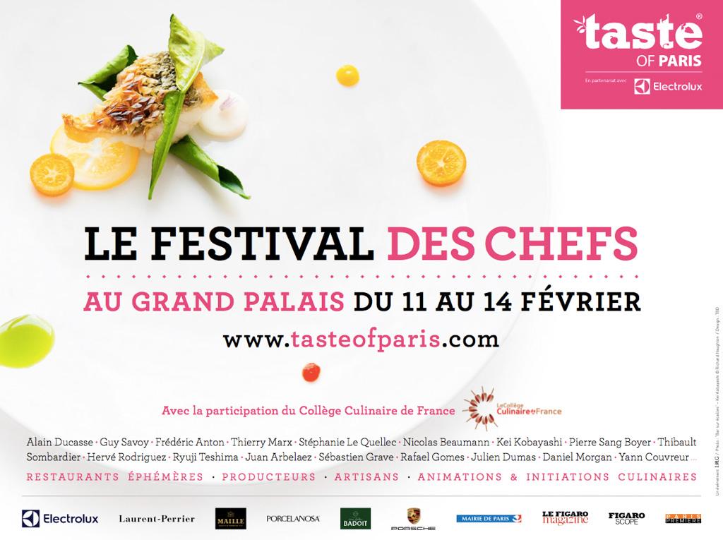 Affiche Taste of Paris 2016