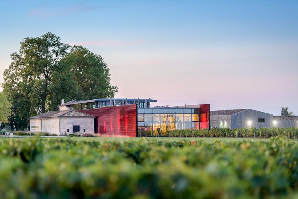 Le Château La Dominique et son chai imaginé par Jean Nouvel © #bb photography