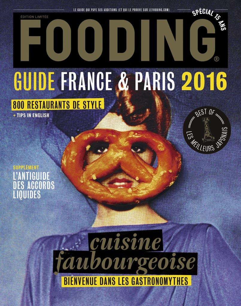 """L'édition 2016 du Fooding célébre la """"cuisine faubourgeoise"""" en Une."""