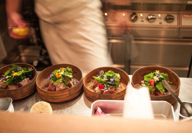 L'étonnant restaurant Dersou, Meilleure table de l'année pour le Fooding © Le Fooding
