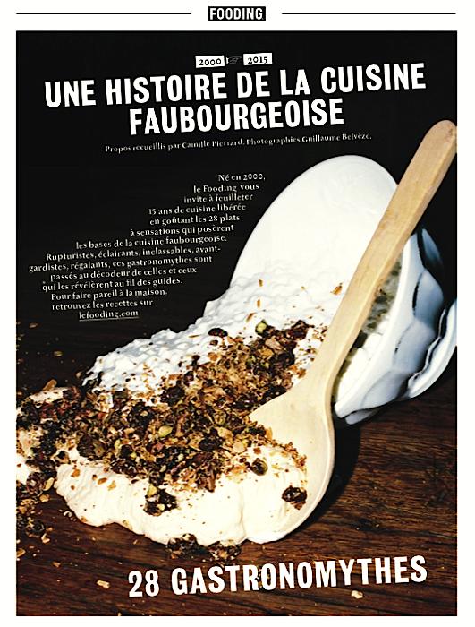 """Flashback gastronomique à travers 28 recettes qui ont marqué les 15 dernières années, les """"gastronomythes"""""""