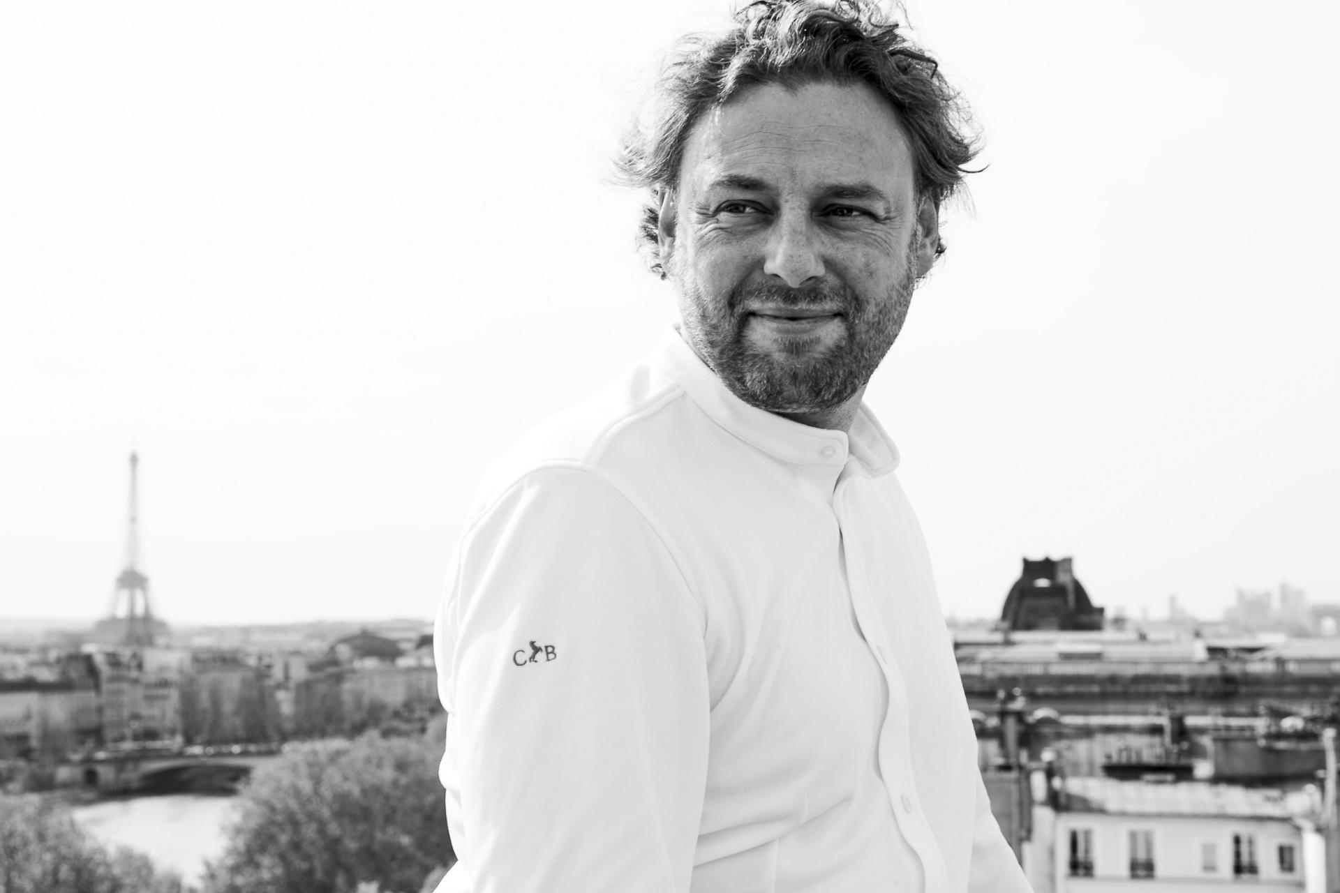 Arnaud Donckele, chef de la Vague d'Or au Cheval Blanc Saint-Tropez et du Cheval Blanc Paris © Matias Indjic
