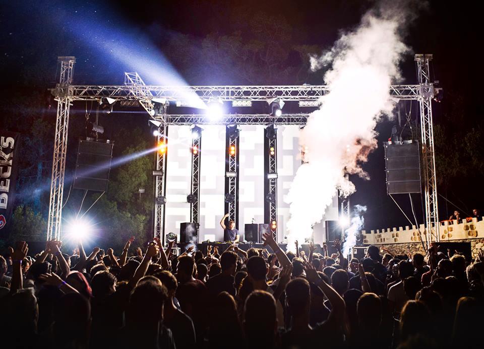 Ben Klock au Glitch Festival en 2016 © Glitch