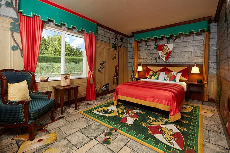 L'hôtel Lego vient d'ouvrir ses portes en Floride - Le king size bed