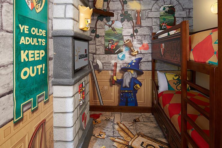 L'hôtel Lego vient d'ouvrir ses portes en Floride - La chambre des enfants
