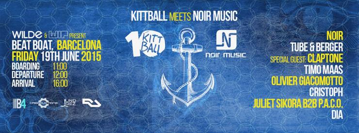 Kittball Meets Noir Music – Boat Cruise