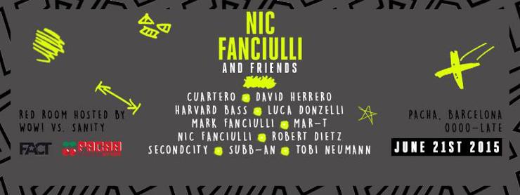 Nic Fanciulli Pacha Barcelona Off Week 2015