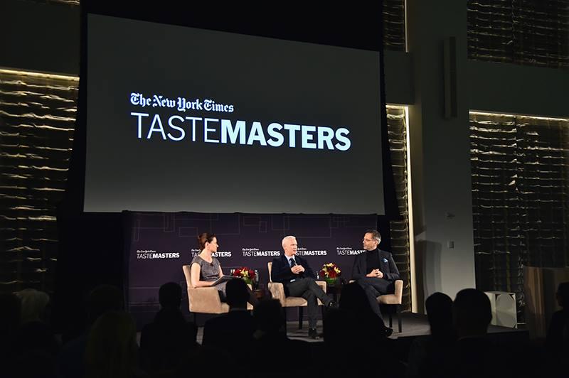 """La première discussion """"TasteMasters"""" au Park Hyatt New York organisée par le New York Times"""