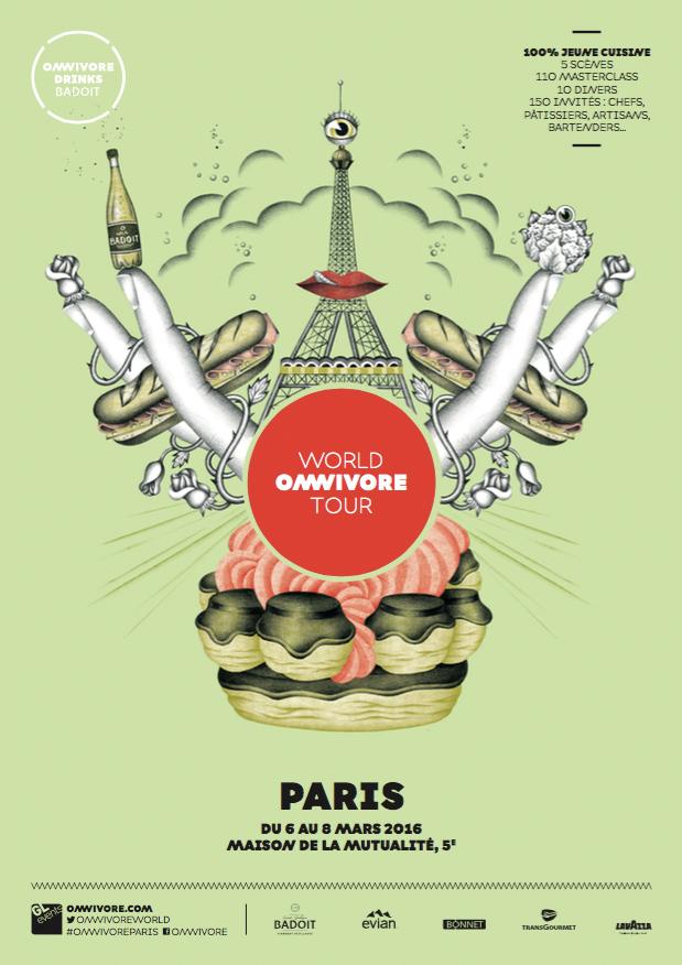 Omnivore Paris 2016 Affiche