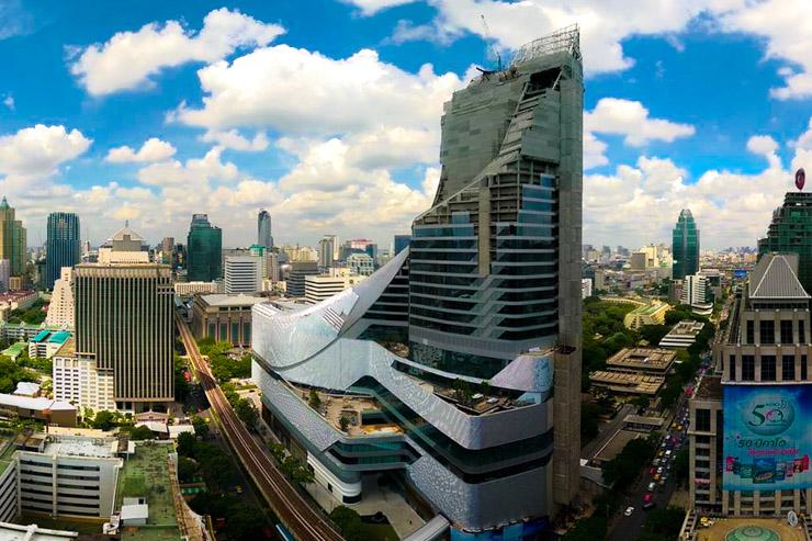 Le Park Hyatt Bangkok et son architecture