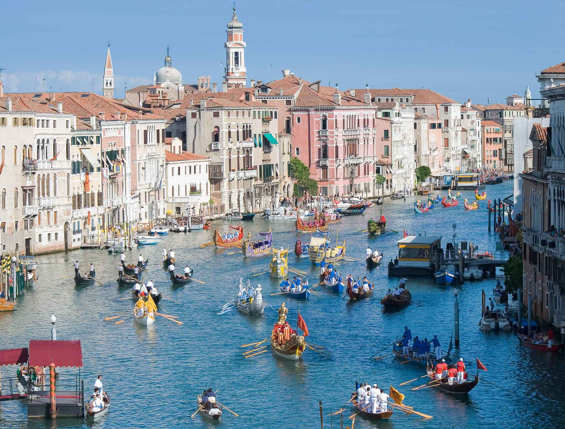 Venise- Luxpérience Eluxtravel - La Regata Storica
