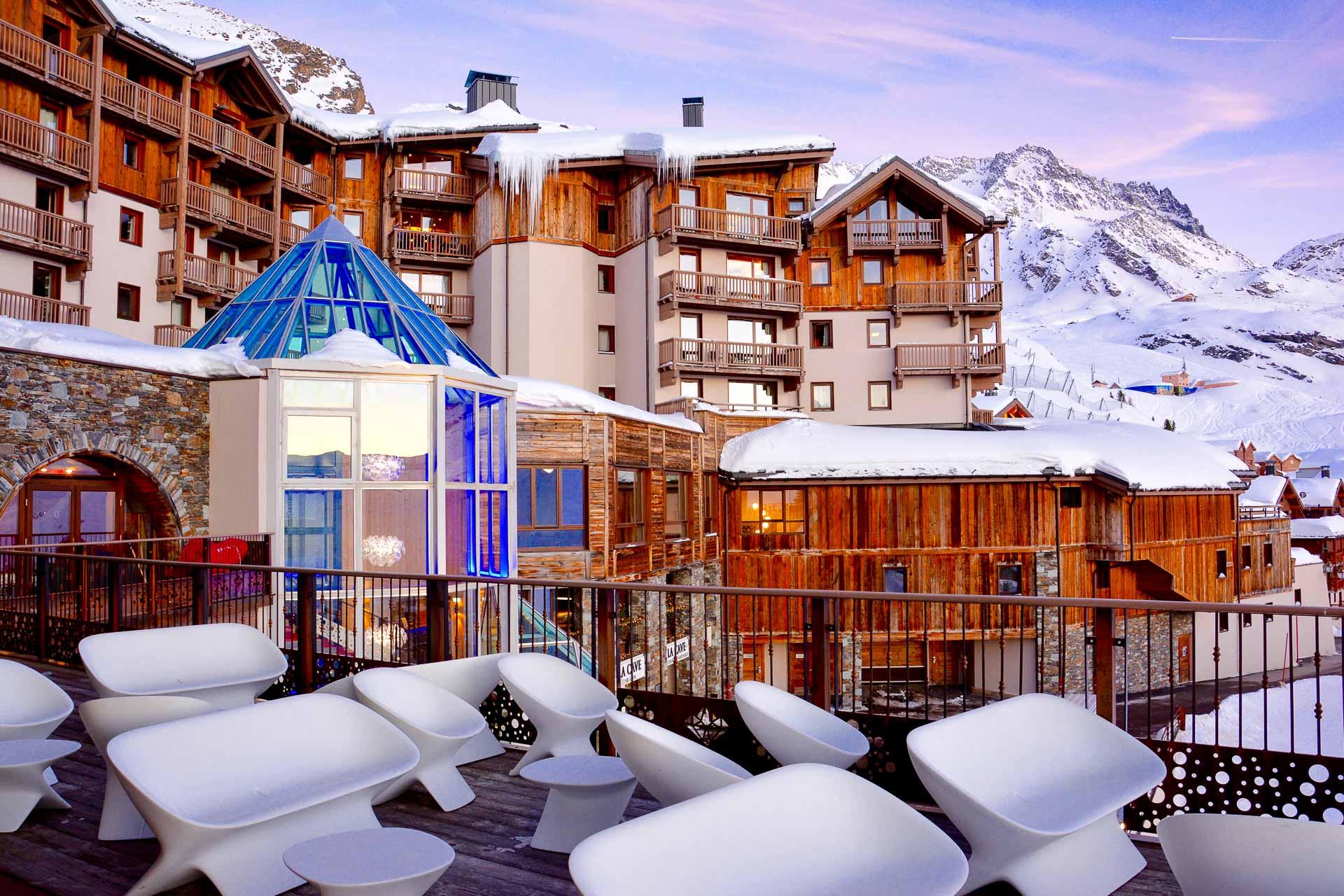 Perché à 2,300 mètres d'altitude, le Koh-I Nor est l'un des plus hauts hôtels de montagne d'Europe. Élu