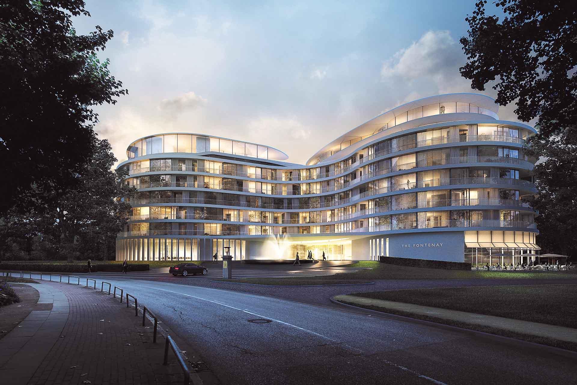 C'est l'un des évènements hôteliers de l'année outre-Rhin. Près de vingt ans après l'ouverture du dernier 5-étoiles à Hambourg, The Fontenay, grand établissement au luxe contemporain sur les rives de l'Alster, vient d'être inauguré. Visite guidée.
