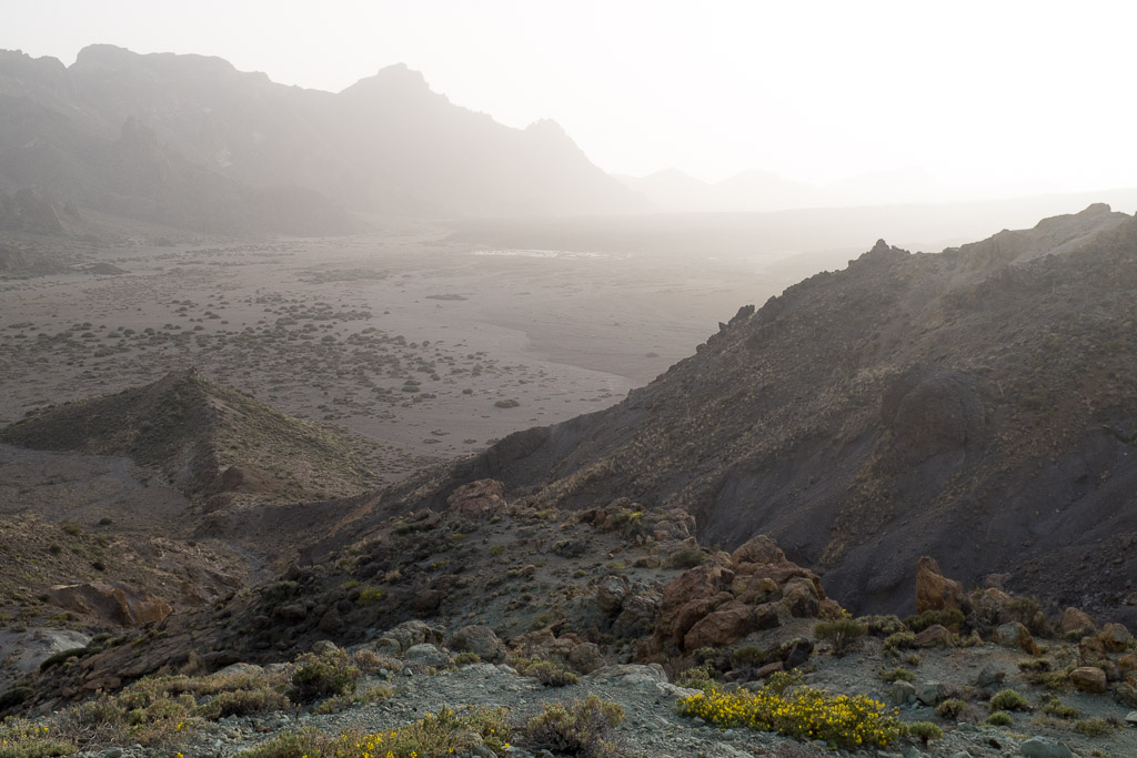 Plaine de l'Ucanca. Parc du Teide. Tenerife.