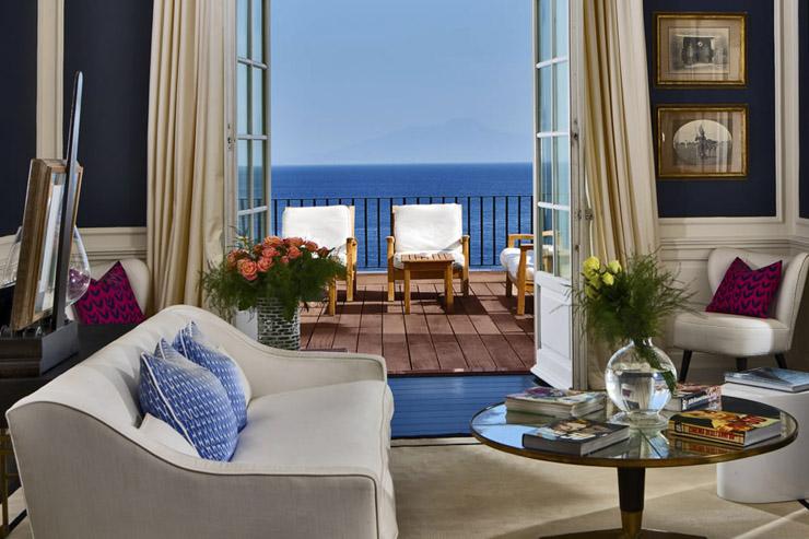 Palace ou bed & breakfast, Yonder a listé les 16 hôtels avec les plus belles vues sur la mythique île de Capri (inclus Capri, Anacapri et Marina Grande).