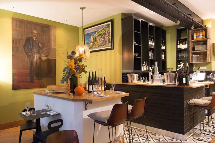 Ratapoil du Faubourg - Intérieur du restaurant