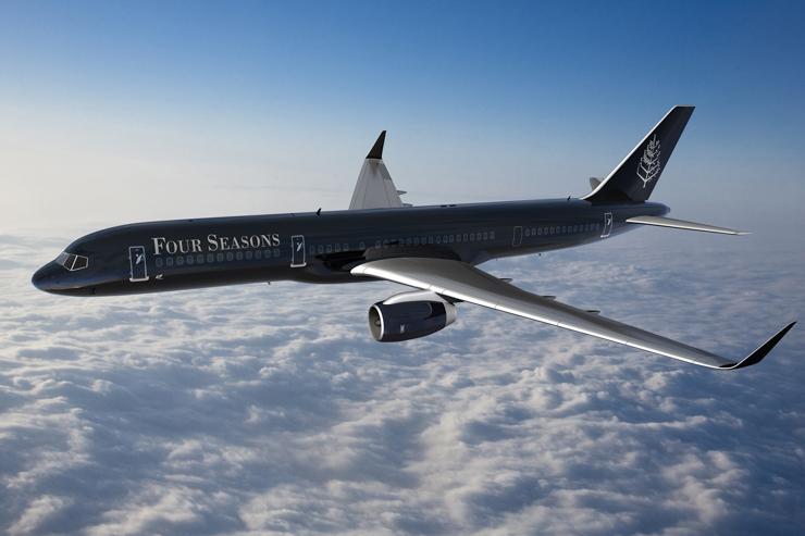Jet Privato Globe Air : Four seasons dévoile son jet privé pour des voyages