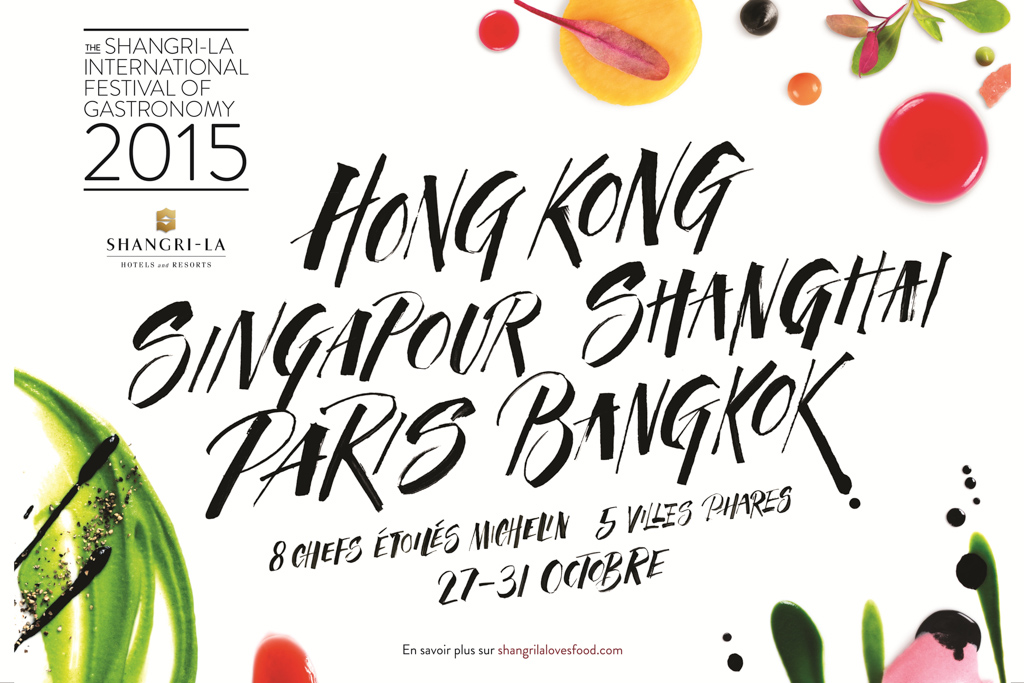 Shangri-La Paris- Festival international de la gastronomie 2015