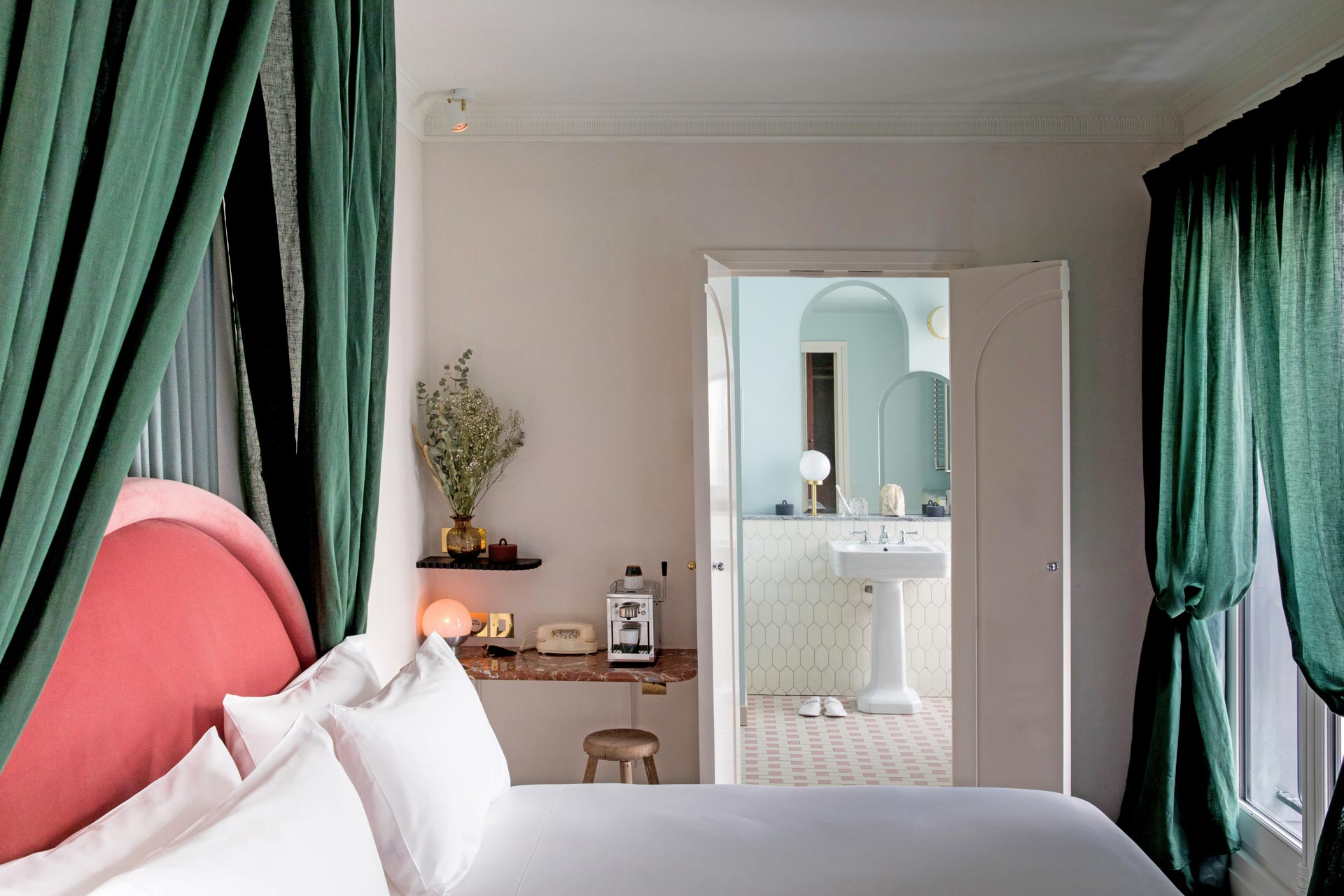Une chambre de l'Hôtel des Grands Boulevards © DR
