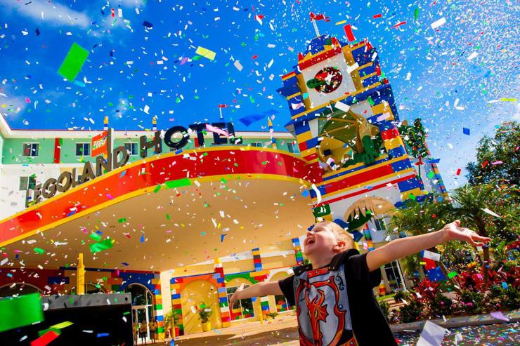 L'hôtel Lego, le paradis des petits... et des grands enfants © LEGO