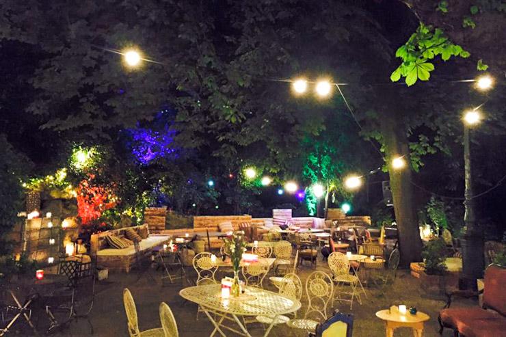 Pavillon Puebla - Buttes Chaumont Paris