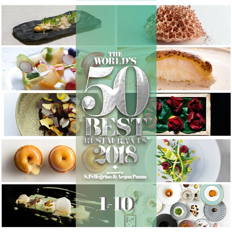 World's 50 Best 2018