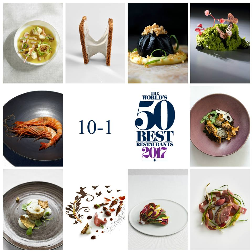 World's 50 Best 2017