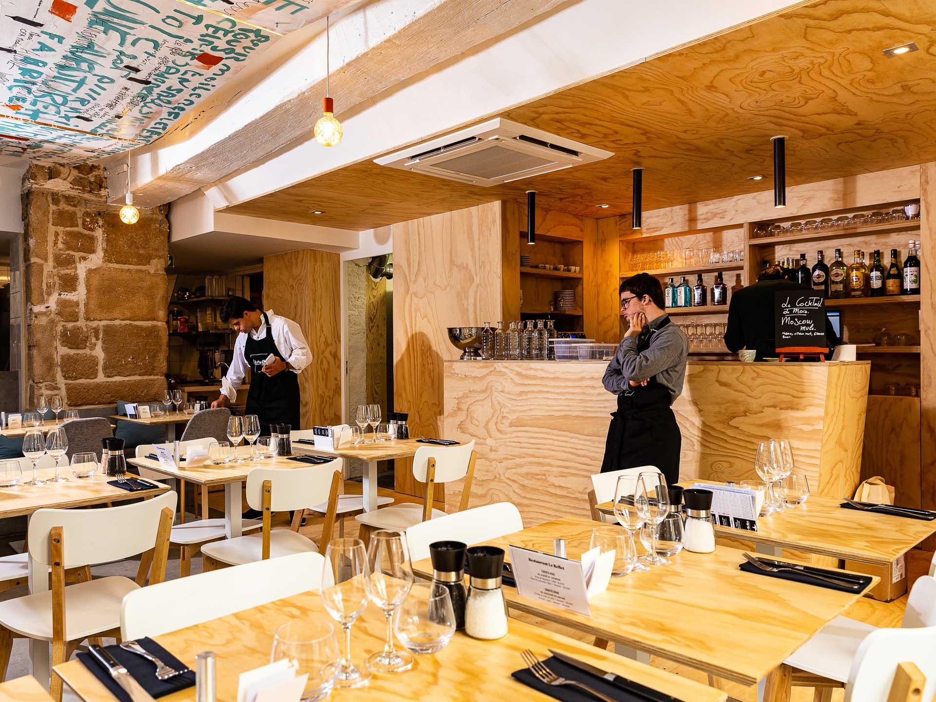 Restaurant Le Reflet Paris © Alban Couturier