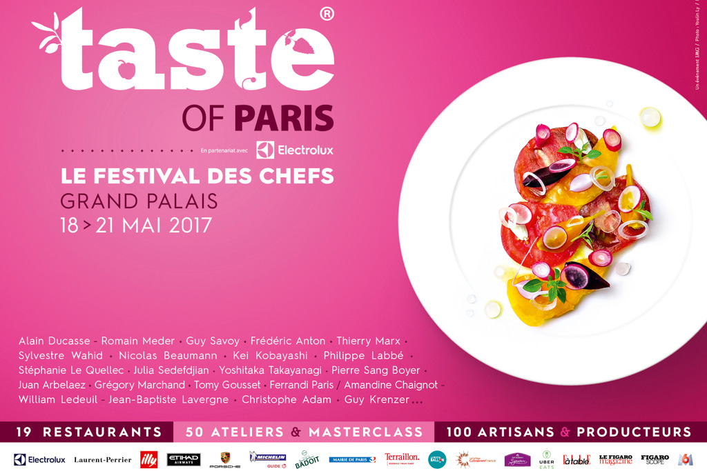 Taste of Paris 2017 - Affiche