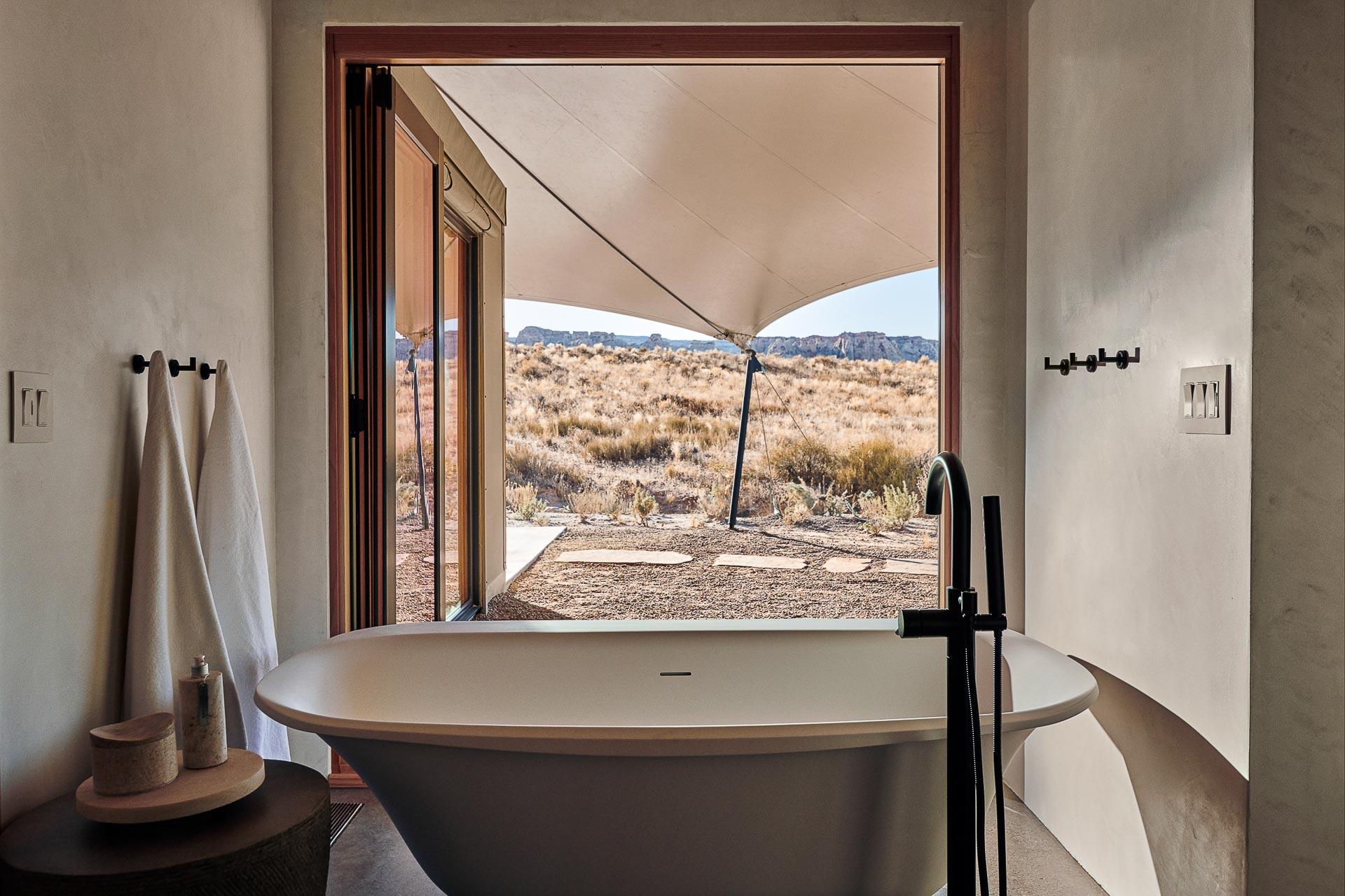 Alors que l'Amangiri, peut-être l'hôtel le plus iconique d'Aman dans le désert de l'Utah, s'apprête à célébrer son dixième anniversaire, une extension