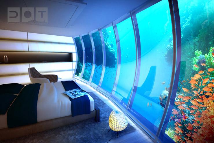 Water Discus Hotel Dubai - A l'intérieur d'une suite