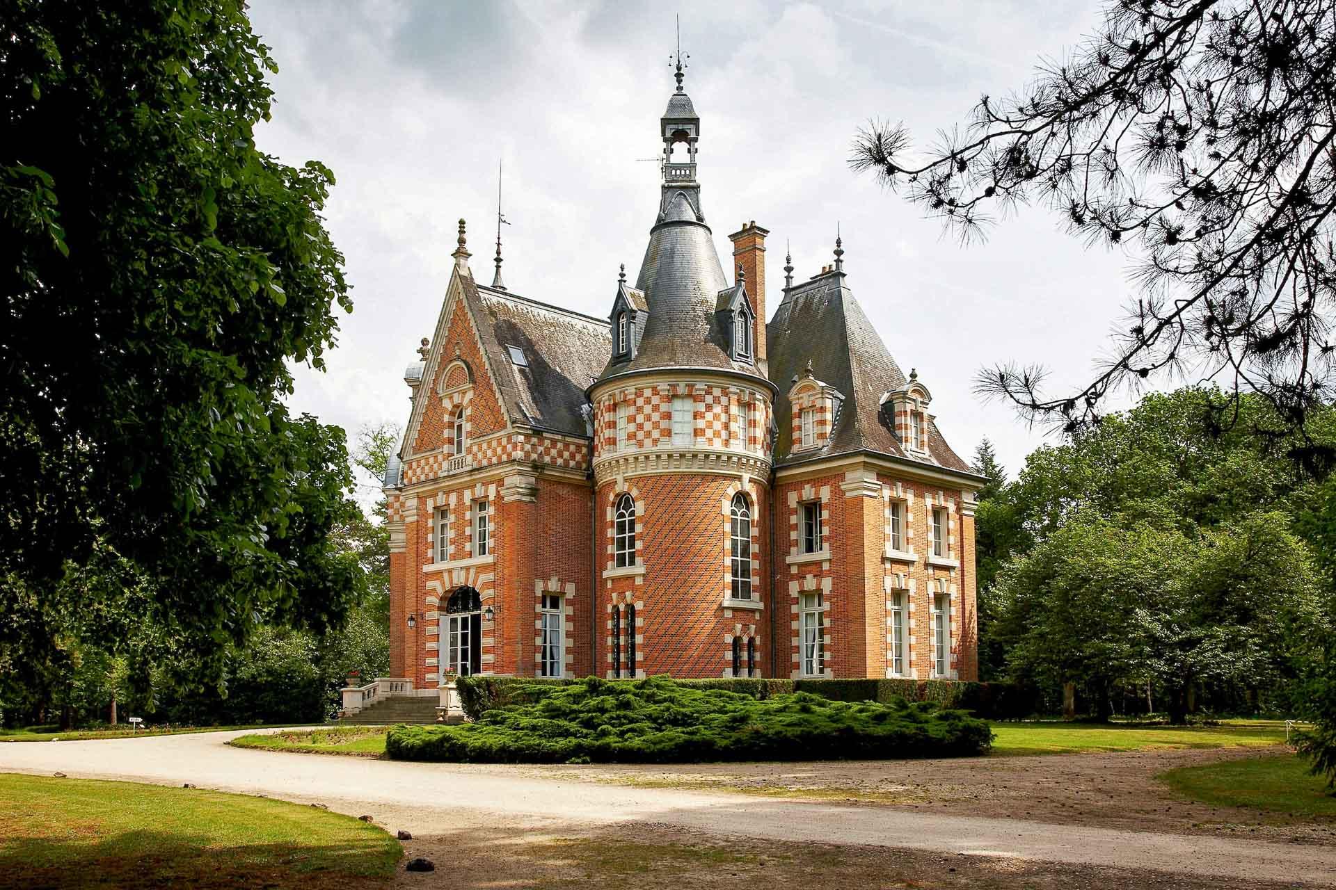 Un château accueillera les futurs hôtes du Six Senses Vallée de la Loire dont l'ouverture est prévue en 2022 © DR